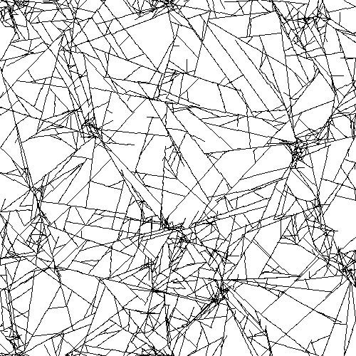 Network meshes exhibiting cluster structures