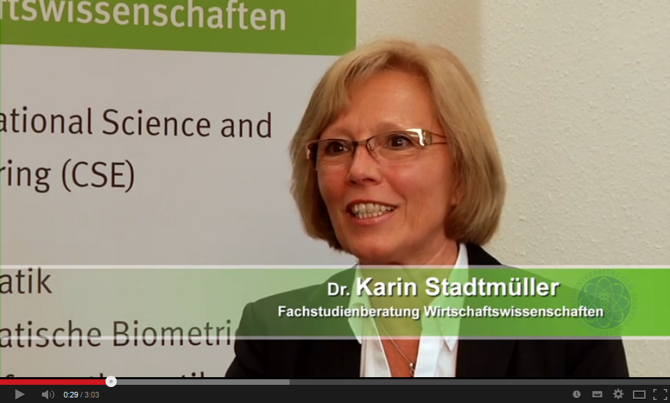 Interview mit Dr. Karin Stadtmüller auf Youtube