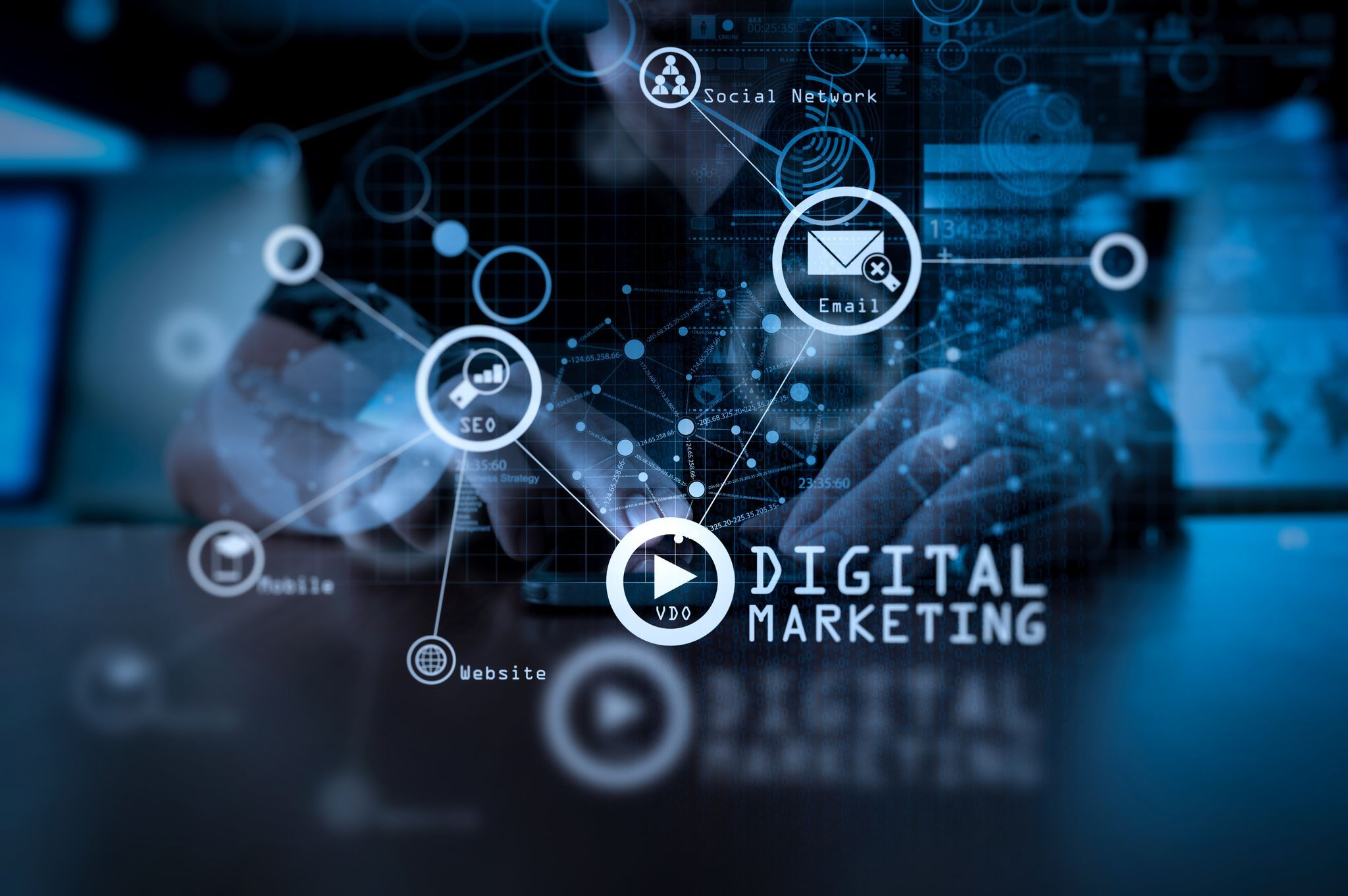 Digitales Marketing, Veranstaltung Master, Digital Business