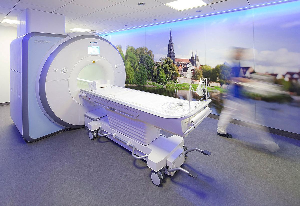 MRI-Scanner at Ulm University Medical Centre (photo: Grandel/ Ulm University Medical Centre) Ulm