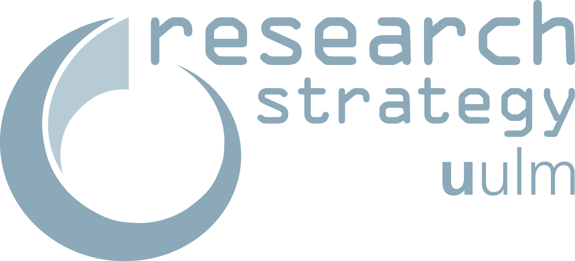 Logo of the Center for Research Strategy and Support of Ulm University