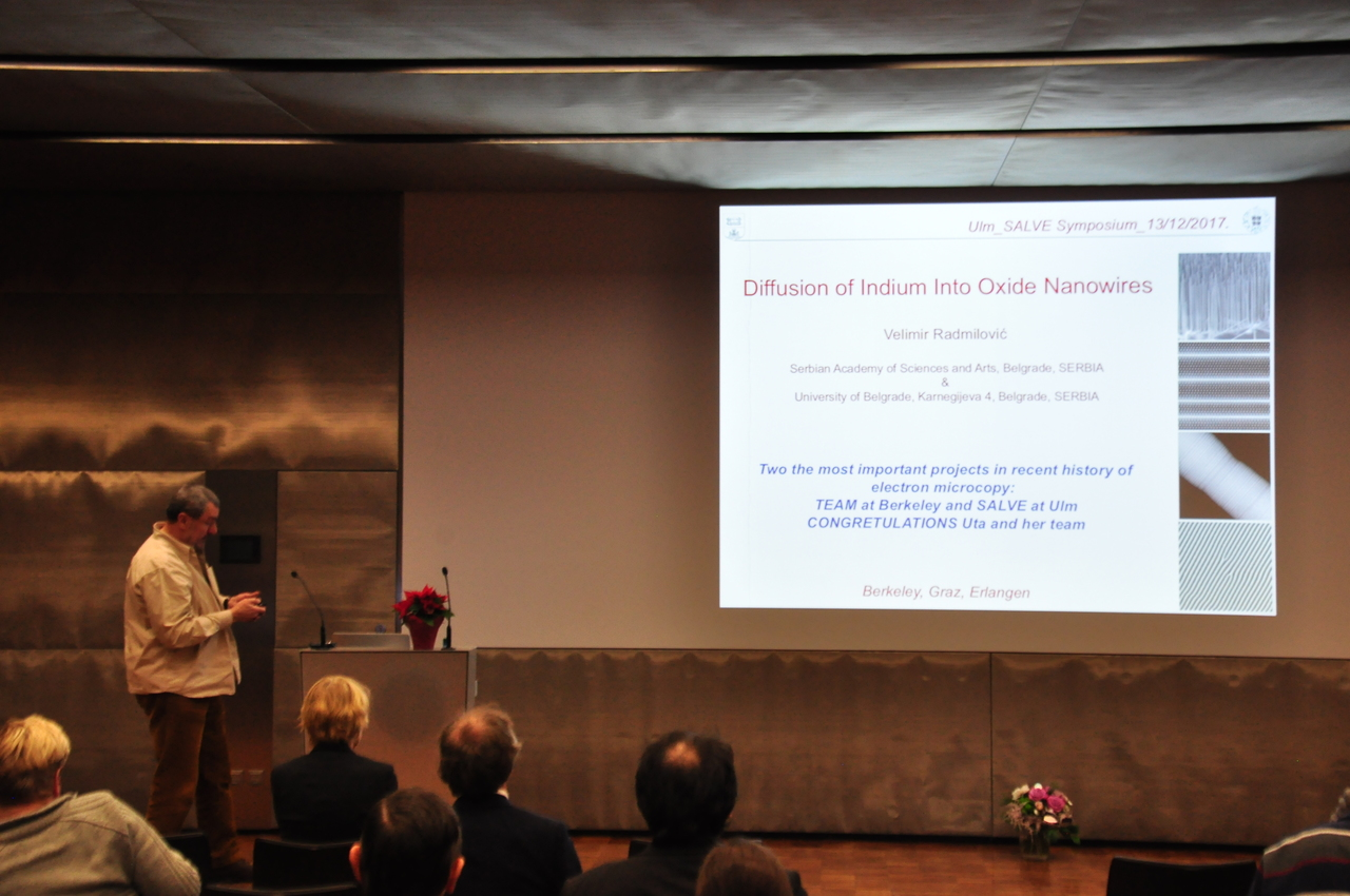 Pictures of the 3rd SALVE symposium - Ulm University