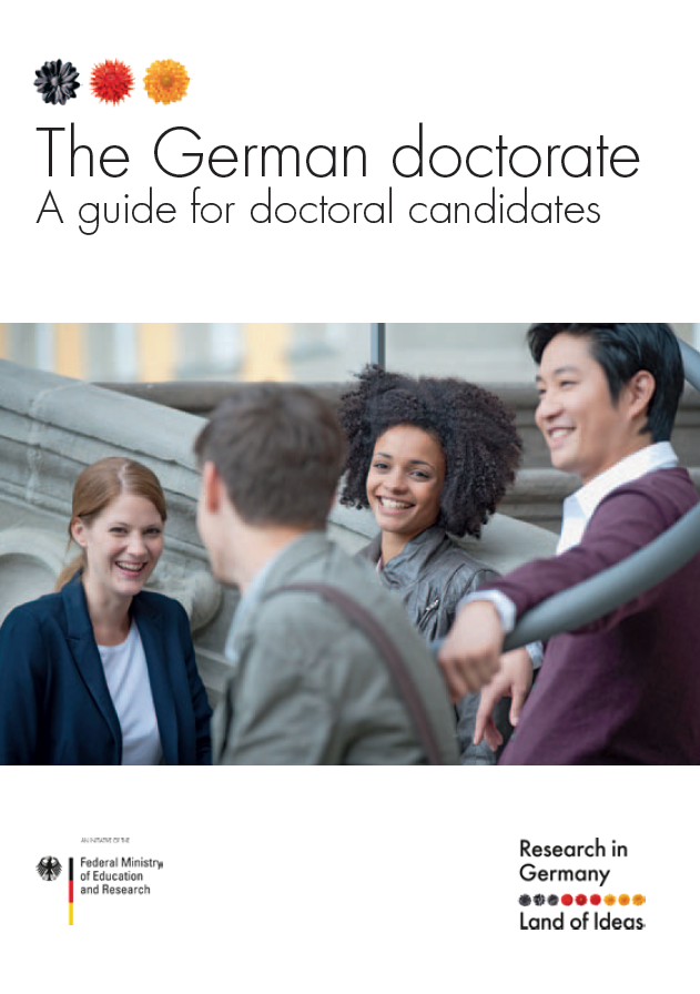 COVER Brochure The German Doctorate