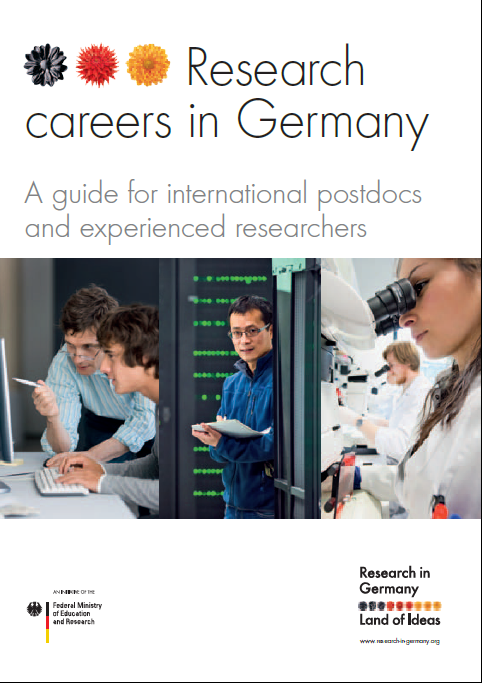 "Broschüre ""Research Careers in Germany"""
