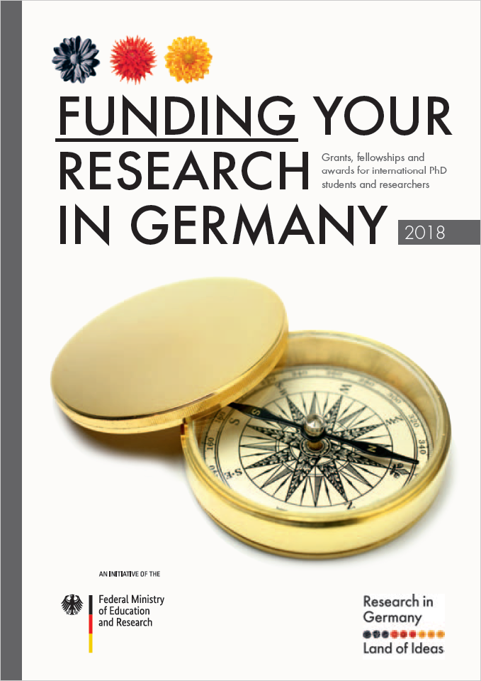 COVER Brochure Funding Your Research in Germany