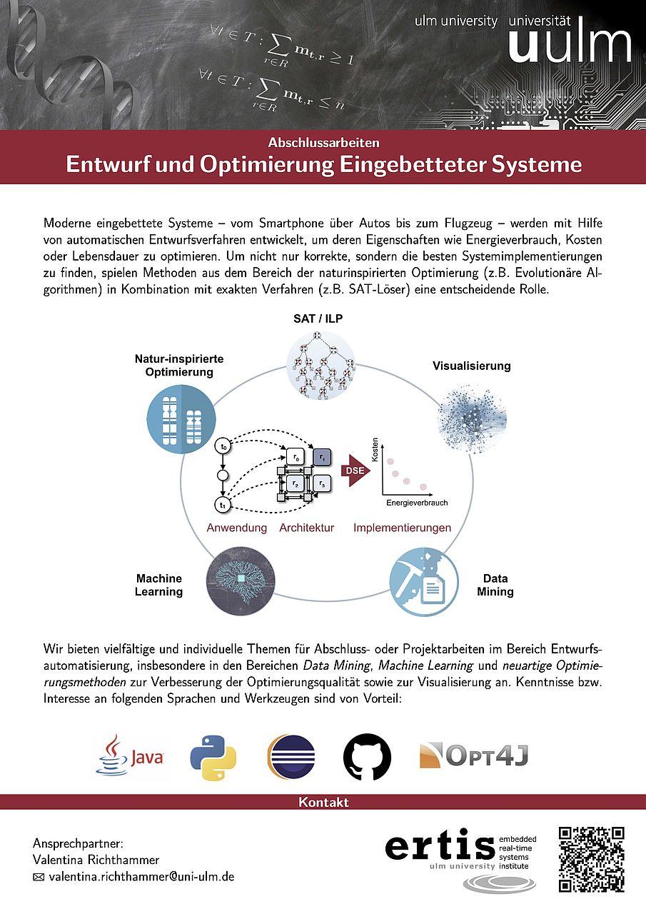 Entwurf und Optimierung Eingebetteter Systeme