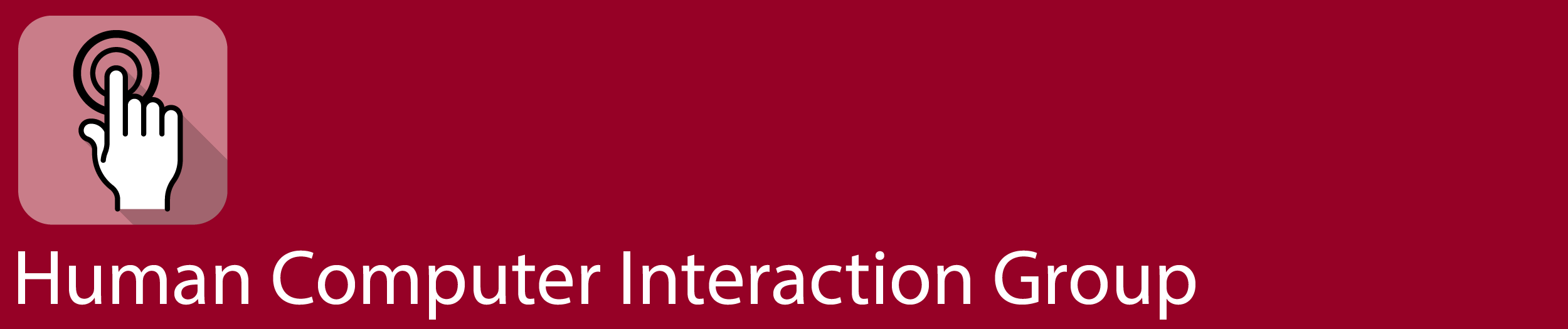 Logo of the Research Group Human Computer Interaction