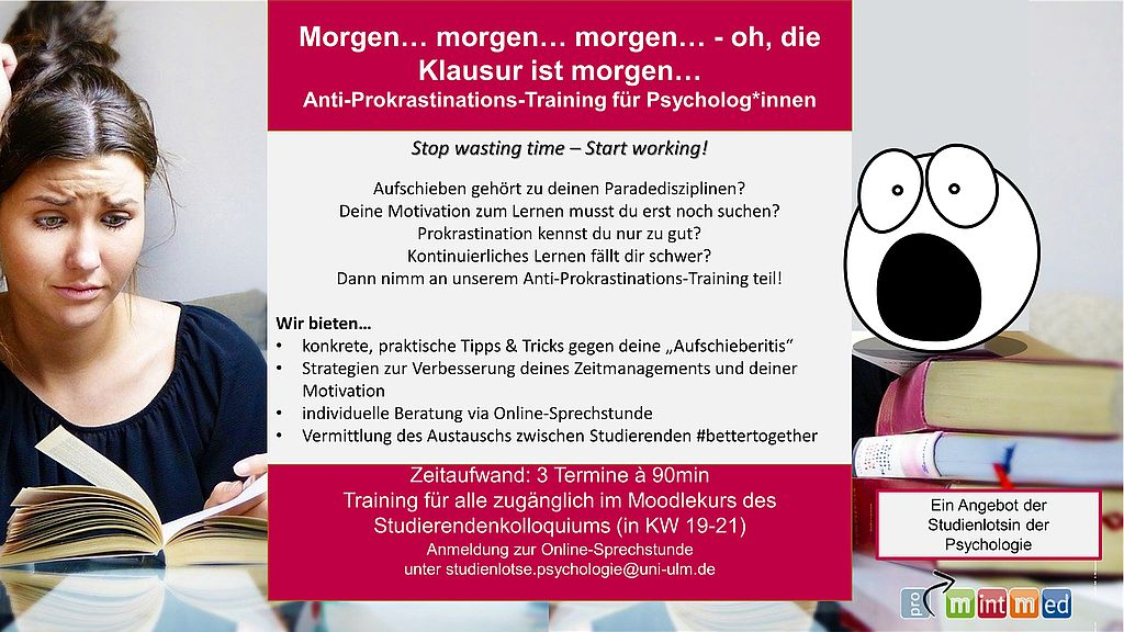 Anti-Prokrastinations-Training
