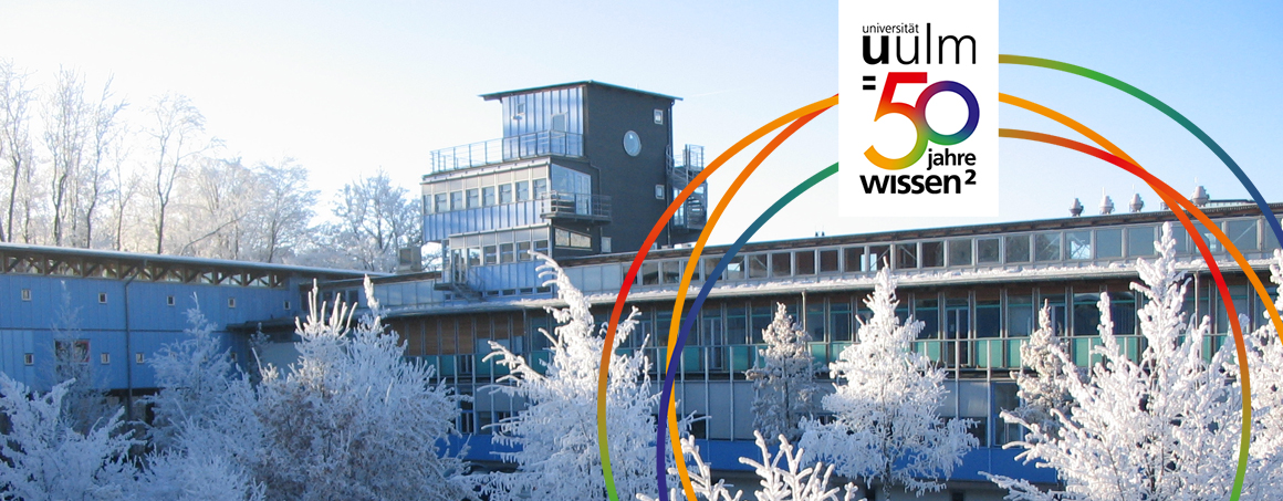 Uni West im Winter