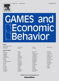 Games and Economic Behavior