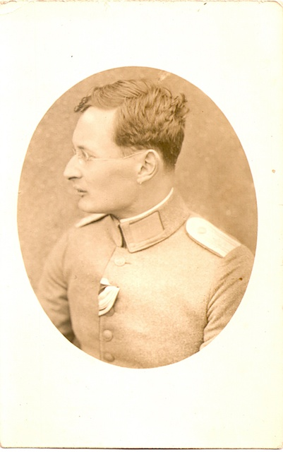 Mohr in Uniform 1915