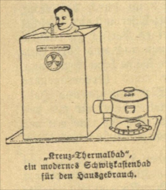 Illustration aus der Rheumatiker-Fibel