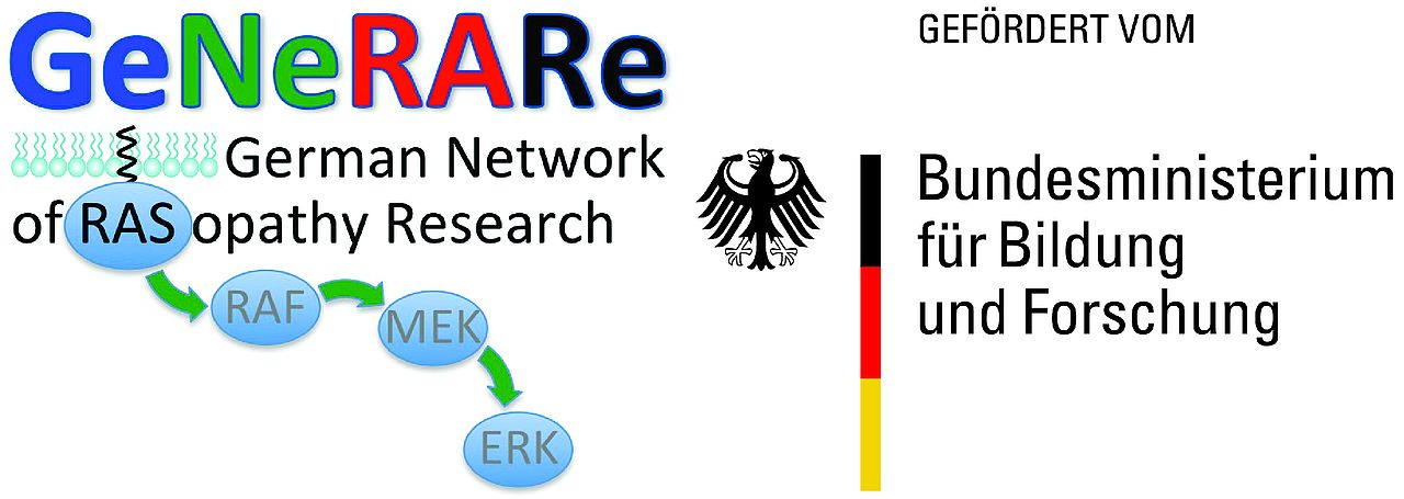 Logo German Network of RASophaty Research founded by the Federal Ministry of Education and Research