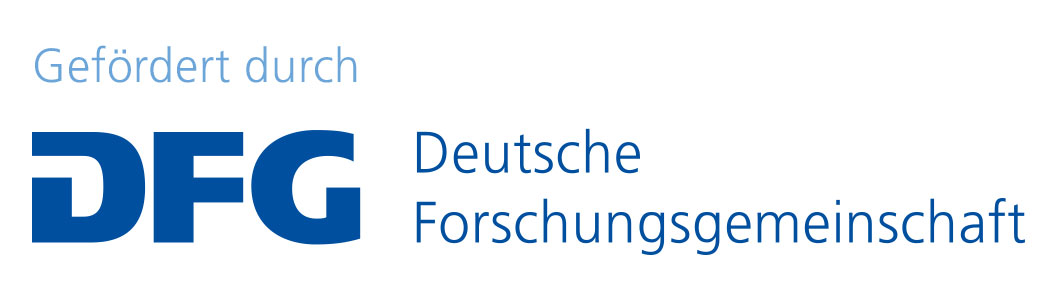 Logo: DFG, German Research Foundation
