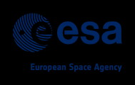 Logo of the European Space Agency, ESA. We kindly ackonowledge funding of our project