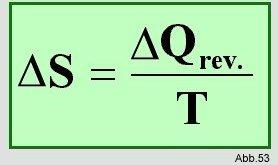 Bei Der Temperatur T Nimmt Das System Die Wrmemenge Qrev Reversiblem Prozess Auf Daraus Folgt Dass Entropienderung Umgebung