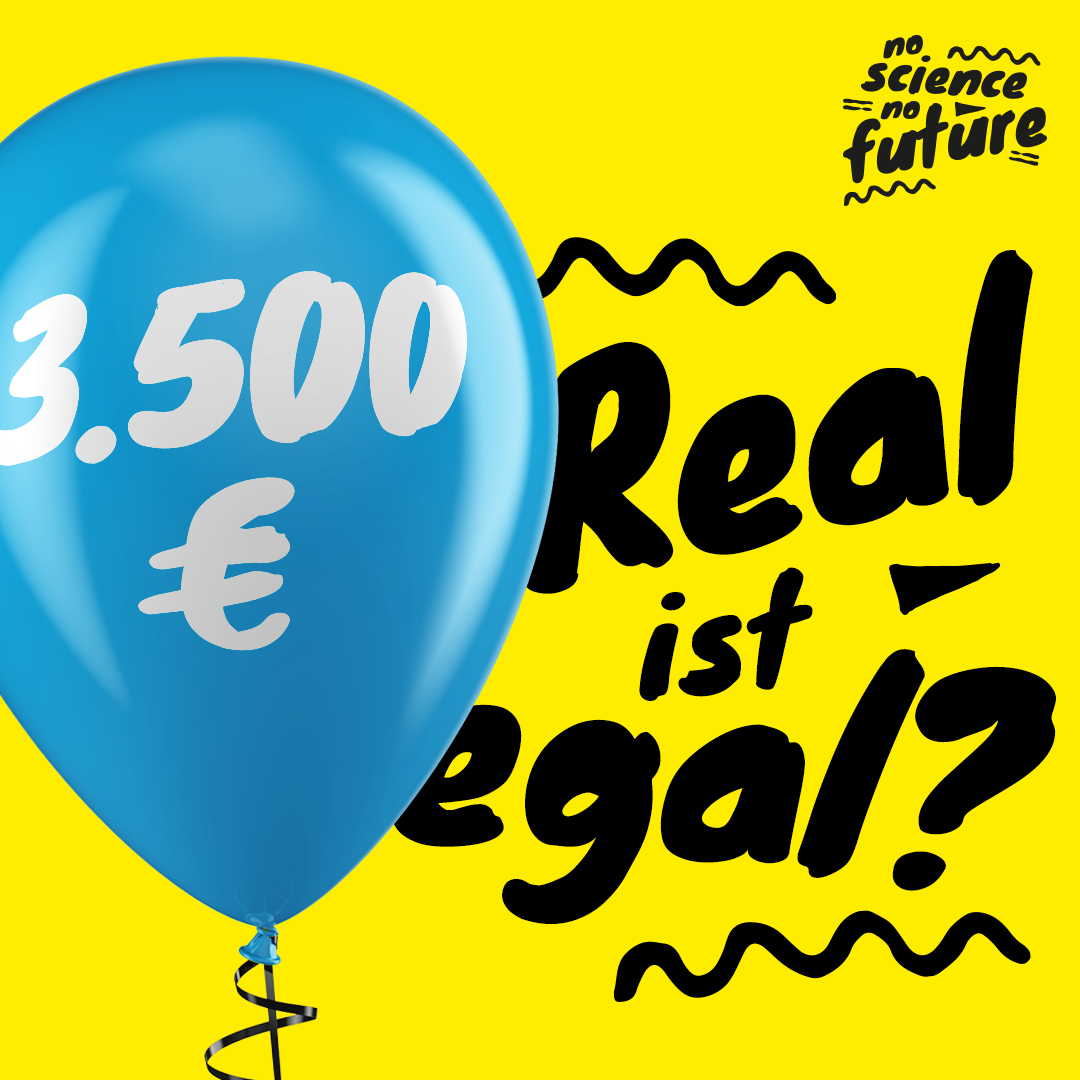 3.500€ Real ist egal?