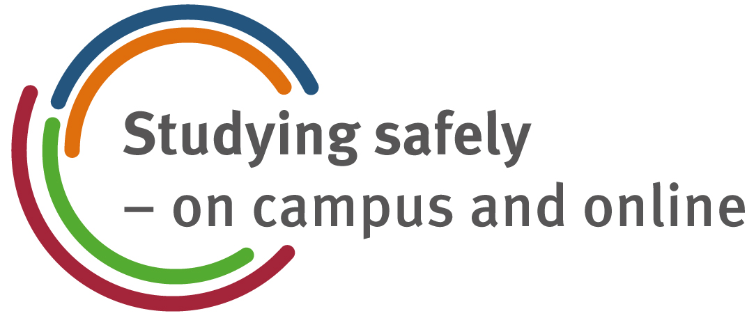 Studying safely - on campus and online