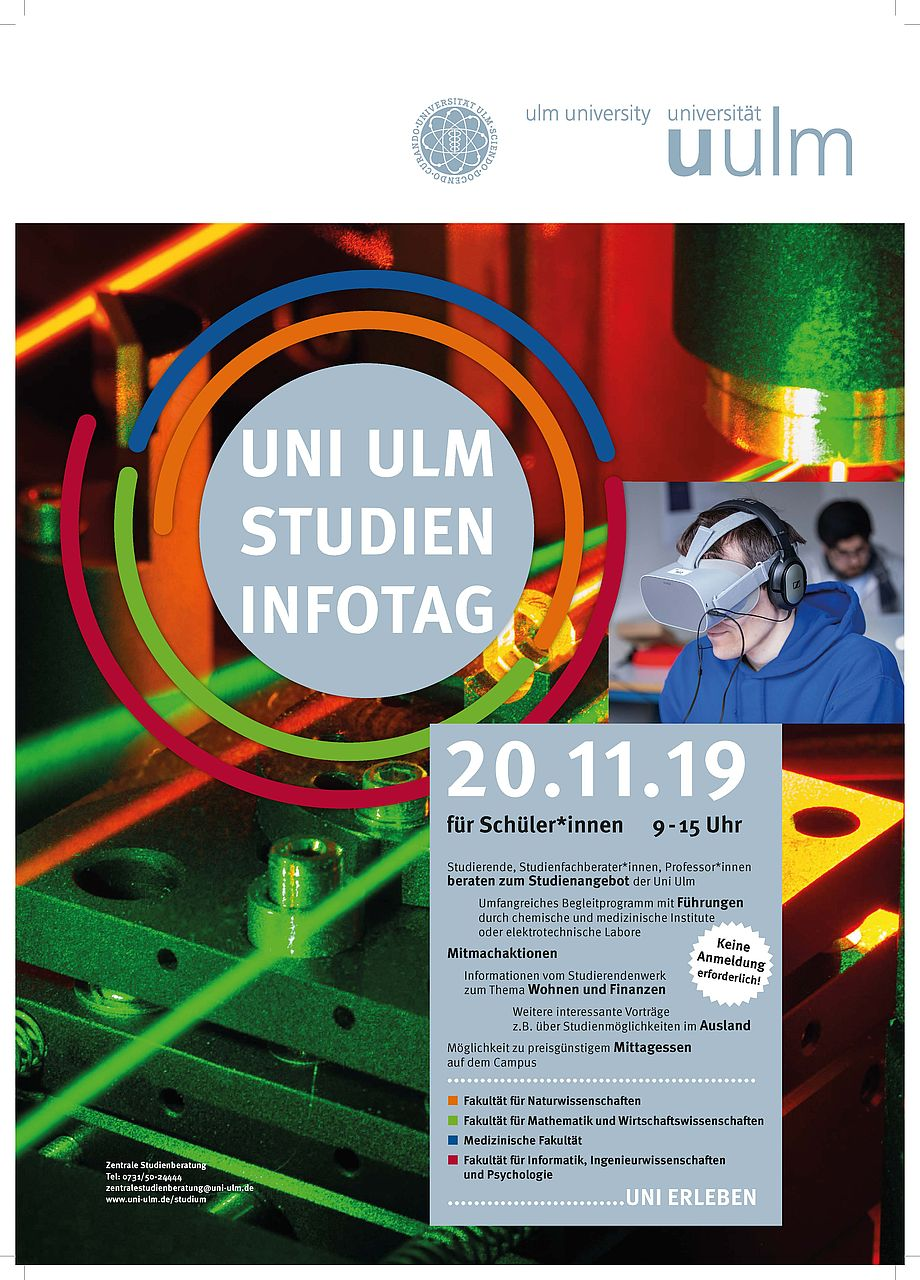 Flyer Studieninfotag