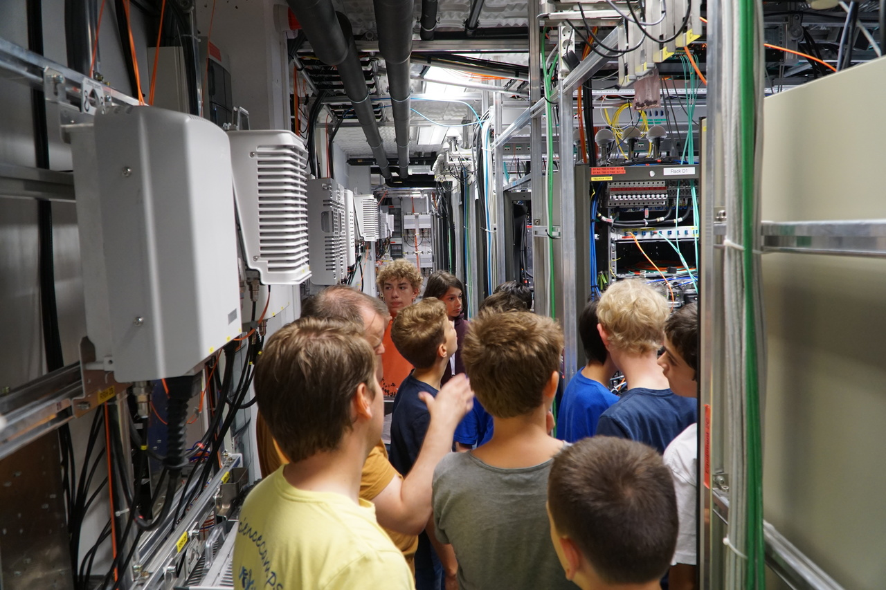 Exkursion zur Technik