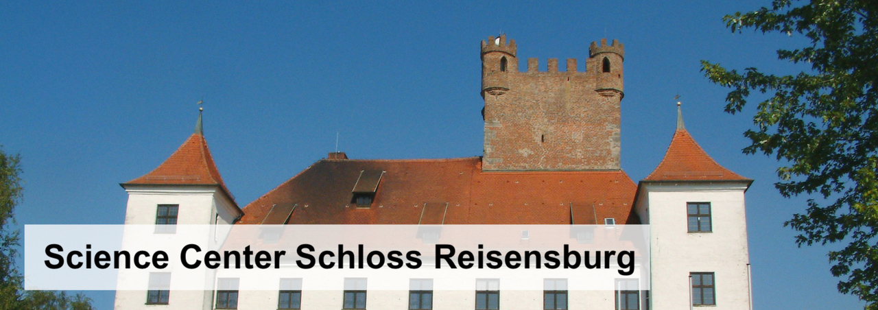 Icon image to of the Science Center Schloss Reisensburg. Foto of the Reisensburg castle.