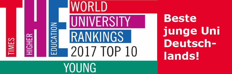 Logo: The 150 under 50 – world university rankings!